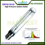 Hydroponic kit grow light 600w hps-HB-LU600W