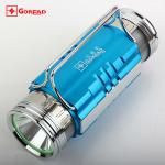 GOREAD F6 dual LED fishing light blue white rechargeable with fish bait lights 400lum-F6