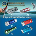 Multi-function Double Light Source Rechargeable LED Fishing Light-KNP-F8