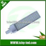 SMD3014 11w g24 led pl light replacing 26w cfl-TC-G24-10WC