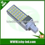 Manufacture LED PL light with 540 lumimous-TC-G24-6WA
