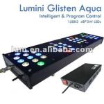 2012 acrylic housing high power 150W intelligent led aquarium light-