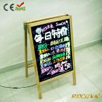 2013 lastest New Design A Frame LED Writing Board-