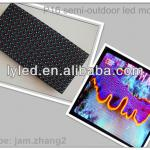 LED dispaly semi-outdoor/indoor advertising p16 full color led module-P16