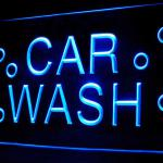 190041B Car Wash Shop Display Chemical Fresh Scent Lubricated LED Light Sign-110064B
