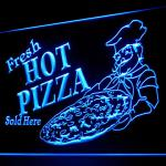 110150B Pizza Cafe Restaurant Gift Open Homemade Grill Display LED Light Sign-110064B