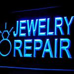 190053B Jewelry Repair Shop Trusted Cleaning Expert Display Lure LED Light Sign-110064B
