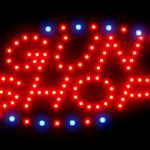 3Q0014 Toy Shop Paintball Safety Military Soldier Federal Retailer Flea LED Sign-3Q0014