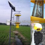15W Solar Insect ultraviolet Killer Light with pole iron casting and steels-XT-201A/D