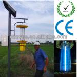 T5 T8 lamp Solar Insect Killer ultraviolet tube lights with stamp with 30w solar panel with pole iron casting and steels-XT-201A/D