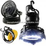2 in 1 LED camping light with fan-70001
