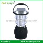 36 LED hand crank dynamo lantern and solar camping lamp-HD-A-4018