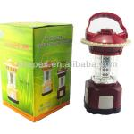 32 LED Portable Bivouac Camping Light Lantern With Compass-032