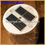 2013 New Factory Original Design Inflatable solar led camping lantern-HSL