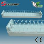 new design t8 fluorescent light fixture cover T8 fluorescent grill fixture 2X36W-SF236W