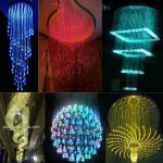 decorative fiber optic lighting,chandelier lighting crystal-DS-FL