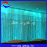 2013 newest multicolor waterfall optic fiber wedding decoration-side pointed