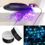 glowing platic fiber optica crystal lighting decoration-DS-1-002