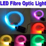 LED 45W Engine RGB Fibre Multi-Colored fiber Light DIY 2m 1.0mm Ceiling Kit outdoor Optic Fiber-PN-6FOL45W