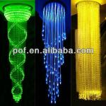 antique light chandelier,pmma plastic fiber optic light curtain-DS041