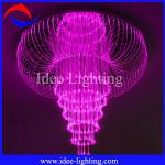 LED fiber optic lantern chandelier-CH-001