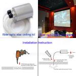 Fiber optic light for ceiling decoration-HSS-288  fiber optic light