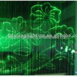 PMMA Fiber Optic Curtain , changeable color plastic optic lighting-LX-wall plastic optical fiber-001
