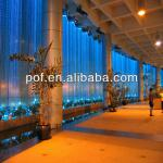 Plastic Fiber Optic Chandelier lighting , Hotel Wall decoration end fiber lighting-DS281