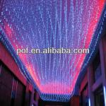 PMMA optic led fiber optic chandelier , hotel lighting decoration-DS390