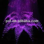 Flower Shape Plastic optical fiber pendant chandelier lighting lamp light-DS617