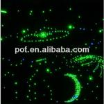 Ceiling Star Sky End Glow Light Fiber , PMMA plastic optic light-DS351
