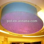 Lobby Decorative Lighting Plastic Optical Fiber color changing chandeliers-DS615