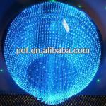 Plastic Optical FIber optic light changing decorations , Ball shape light-DS616