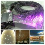 Plastic Optical Illuminated Cable Waterproof , LED Ceiling Light Kit-DSC006