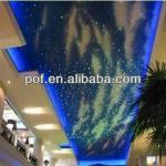 Mall Ceiling Sky Optic Fiber , PMMA plastic optic cable lighting-DS276
