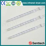 Energy saving infrared quartz glass halogen tube,halogen heater for dried fruit-STSTW