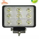Outdoor LED Aluminum led working lights 27W Epistar-BE-2H0103-2701