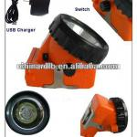 LED cordless coal mining lights 2.5Ah-KL2.5LM