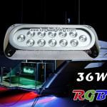 Color Change RGB 36W Transom Wakeboard LED Underwater Boat Marine Lights-UM-SSD119-6X3W