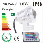 High power rgb led underwater light for fountain /ponds,IP68 Waterproof,3W,3*2W,3*3W,10W-GZSJ-SD-13