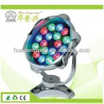 18w RGB led underwater light for fountain pool-HDX-SDL-E