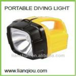 Cree LED super search portable diving light,portable waterproof light, SUPER bright spotlight-LS-Q001