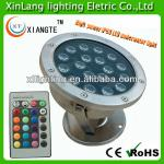 High power ip68 led underwater light 12/24v colorful with remote controller-XL-SD-003