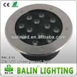 high power12w LED underground light IP65 with CE&RoHS approved-F05