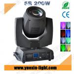 Wholesale 200W 5R with 16CH beam moving head light-YX-MH200