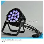 led par can stage lighting 14pcs 3w water proof led par light-LS-20