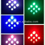 9pcs*10W led stage par cans 4in1 led mini par light-LD-10