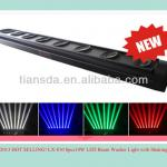 4in1 led beam moving light 8*10w rotating moving bar-LX-810