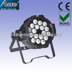 18*10w 4in1 RGBW/A led flat par can,multi color led par,quad color led par-AC-LED I8819 18-4IN1