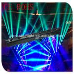 Guangzhou Cree LEDS 8*12w LED beam moving head/Eight Heads 12w LED rotation beam light/moving head beam light-GBR-3036